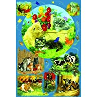 Linda Picken Country Kittens 625pc Jigsaw Puzzle
