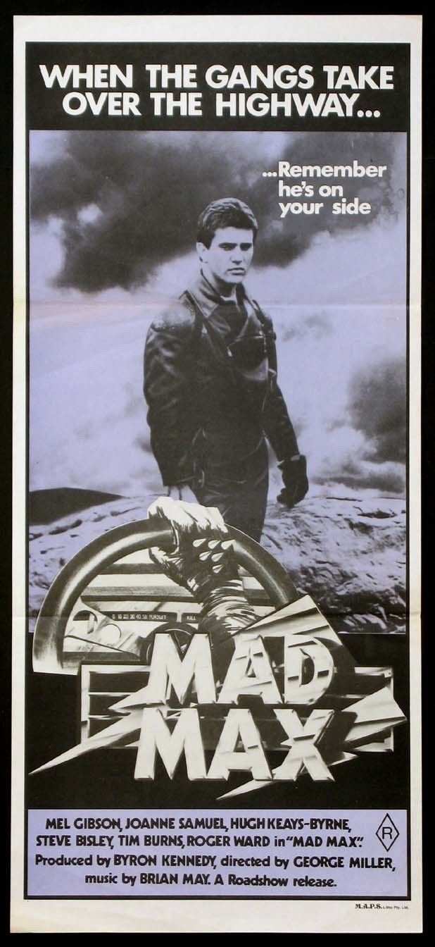 Post-apocalyptic gift: Mad Max movie poster