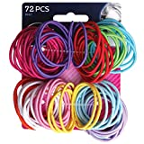 (72 pack) Goody Ouchless No Metal Gentle Elastics