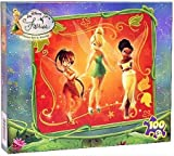 Disney Fairies Puzzle - Tinker Bell and Friends 100 pcs Puzzle Toy Box ( Assorted Design )