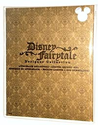 D23 Disney Fairytale Designer Collection Lithograph Collection LE of 2000