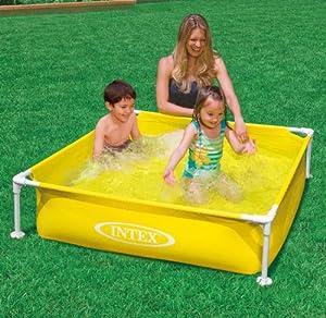 Intex mini frame pool kiddie pools for Intex mini frame pool afdekzeil