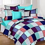 JMT Premium Cotton Double Bedsheet(100% Heavy Stuff Pure Cotton Double Bedsheet With 2 Pillow Cover,size -225x225 Cms, Pillow - 70x45 Cms) - B074KHMJQ2