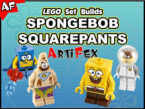 Clip: Lego Set Builds Spongebob Squarepants - Season 1