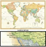 Rand Mcnally World Map (Classic Edition World Wall Map)
