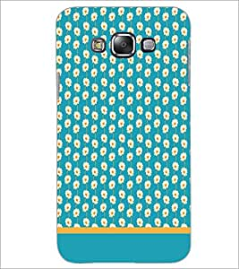 PrintDhaba Floral Pattern D-1892 Back Case Cover for SAMSUNG GALAXY A8 (Multi-Coloured)