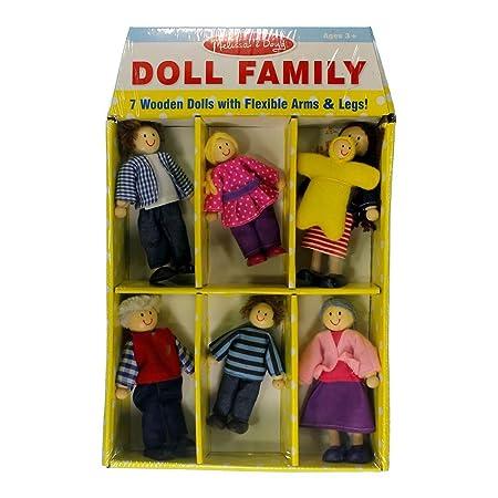 Famille de poupées EN BOIS [Jouet]