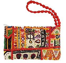 Mehrunnisa Kutch Tribal Vintage Patchwork Women Bag Multi Colour (BAG595)
