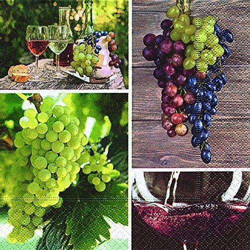servietten-grape-harvest-wein-trauben