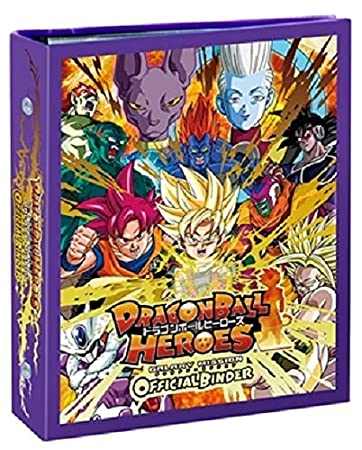 Dragon Ball Heros Galaxy Mission Official Binder Set Chronicles Movie boss Anime