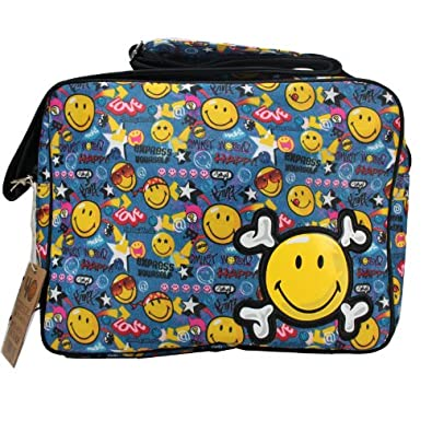 Smiley World handbag Shoulder Bag Carry Bag 100% Original School