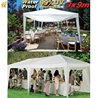 STRONG CAMEL Wedding Party Tent 10x30 White Gazebo Canopy BBQ Easy Set Pavilion Cater Events from SUNRISE