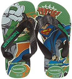Havaianas Kids Heroes Flip Flop (Toddler/Little Kid),Leaf Green,23-24 BR (8 M US Toddler)