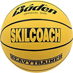 Buy Baden SkilCoach Official Heavy Trainer Rubber Basketball by Baden