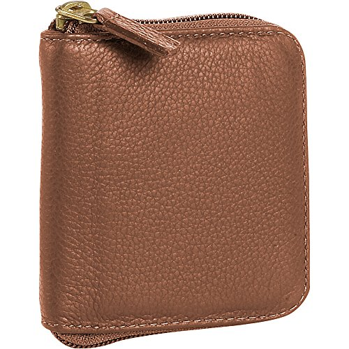 j-p-ourse-cie-yellowstone-collection-raindrop-wallet-cinnamon