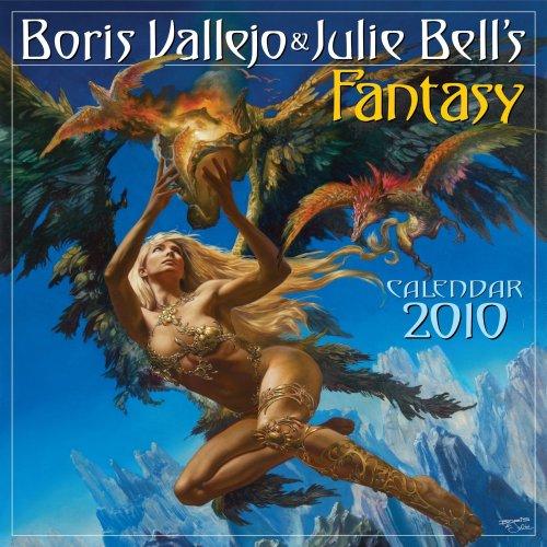 Boris Vallejo & Julie Bell's Fantasy Calendar 2010