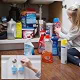 The-Baby-Lodge-Child-Safety-Cabinet-Locks-The-Ultimate-Childproofing-Latches-for-Cabinets-Dresser-Refrigerator-Drawers-Microwave-Oven-Toilet-Seat-3M-Adhesives-Adjustable-Strap-6-Pack