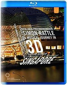 Rachmaninov Mahler Berliner Philharmoniker Sir Simon Rattle The Berliner Philharmoniker Live Recording Singapore Euroarts 2058904 Blu-ray 2013 by Euroarts