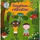 Comptines de relaxation livre + CD
