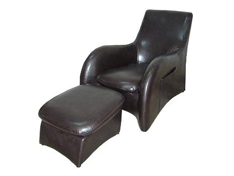 ORE International HB4172 Sofa, Dark Brown