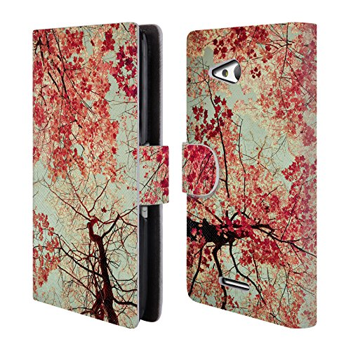 ufficiale-olivia-joy-stclaire-rosso-autunno-natura-cover-a-portafoglio-in-pelle-per-sony-xperia-e4g