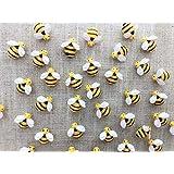 30 Pcs Decorative Pushpins,Cork Board Tacks,Bulletin Board Tacks,Thumb Tack Decorative for CorkBoard, Office Organization or Home (Bee) (Color: Bee)
