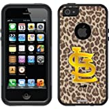 St. Louis Cardinals - Leopard Print design on a Black OtterBox® Commuter Series® Case for iPhone 5s / 5 at Amazon.com