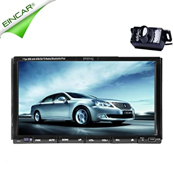 EinCar Android 4.2 Lecteur DVD de voiture šŠcran tactile capacitif glisser GPS Radio Double 2 Din Navigation Dash DVD Player voiture Car PC stšŠršŠo Autoradio vidšŠo + Plan gratuit!