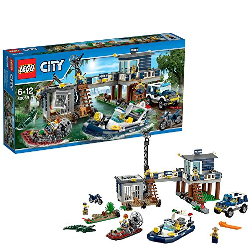 Lego City swamp of Police Station 60069