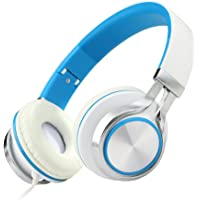 ECOOPRO SW-HP200-01BL Over-Ear 3.5mm Wired Stereo Headphones (Multiple Colors)