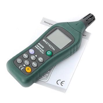 MASTECH MS6508 Thermo-hygrometer Digital Temperature Humidity Moisture Meter