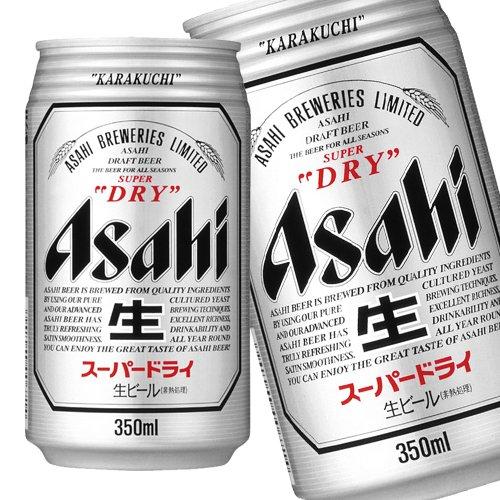 アサヒ スーパードライ 350ML × 24缶