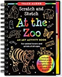 img - for At the Zoo Scratch & Sketch (An Art Activity Book for Animal Lovers and Artists of All Ages) (Trace-Along Scratch and Sketch) book / textbook / text book