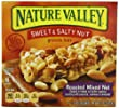 Nature Valley Sweet and Salty Nut Granola Bars, Roasted Mixed Nut, 6-1.2oz Count Boxes (Pack of 6)