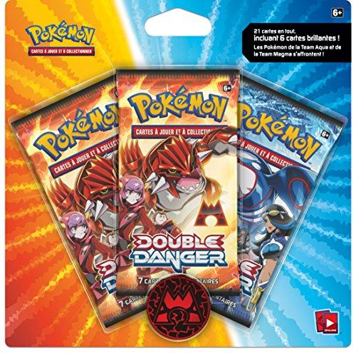 Pokémon - 3packtmta - Cartes À Collectionner - Pack De 3 Boosters - Double Danger - Modèle Aléatoire