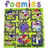 Foamies Town Map Activty Puzzle Playmat
