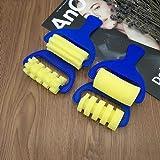 GSPet 4Pcs Sponge Paint Roller DIY Kids Art Painting Tool Toy Preschool Children - Blue (Color: Blue)