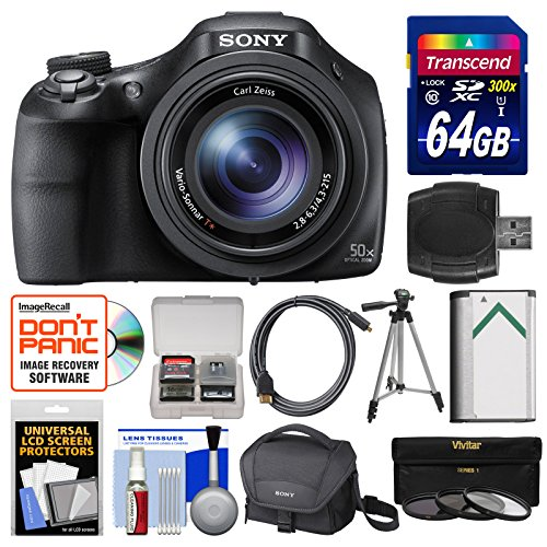 sony-cyber-shot-dsc-hx400v-wi-fi-digital-camera-with-64gb-card-case-battery-tripod-hdmi-cable-3-filt