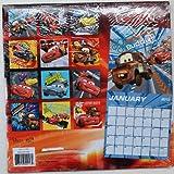 Disney Pixar Cars 2013 - 16 Month Wall Calendar 10x10