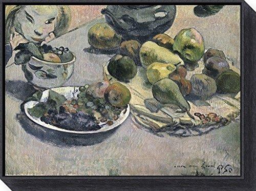 Fruit, 1888 by Paul Gauguin Framed Canvas