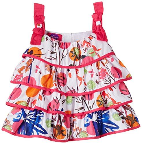 Cupcake Baby Girls' Dress (M9-9-2477_Fuschia_12 months)