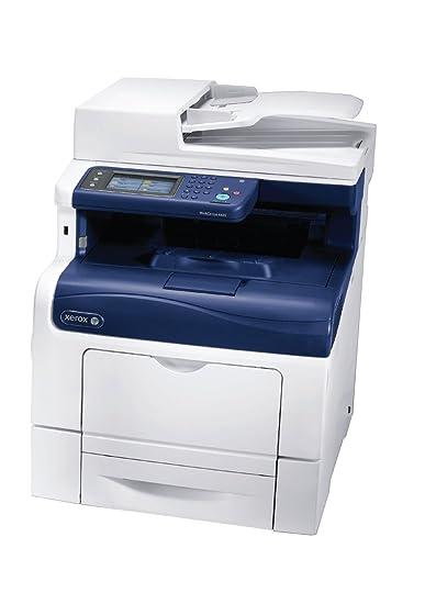 Xerox WorkCentre 6605V_N Imprimante multifonction laser couleur 35 ppm 1200 x 1200 dpi USB 2.0 Ethernet Blanc