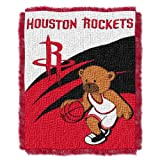 NBA Houston Rockets 36-Inch-by-46-Inch Woven Jacquard Baby Throw at Amazon.com