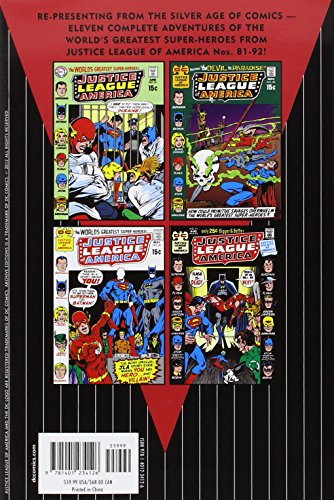 Justice League Of America Archives HC Vol 10 (Archive Editions)
