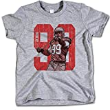 500 Level Boys' Aldon Smith NFLPA Officially Licensed San Francisco 49ers T-Shirts 99 5-6 Years Toddler Grey