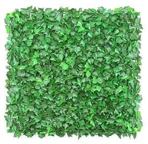 Siepe artificiale edera english ivy mattonelle 50x50cm - Mattonelle giardino ...