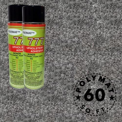 Polymat 2 cans 12 oz ea 777 Glue+ 15ft * 48