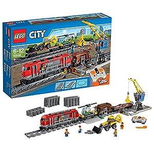 Amazon.com: Lego City 60098 Heavy-haul Train: Toys & Games