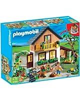 Playmobil - 5120 - Jeu de construction - Maison des fermiers et marché
