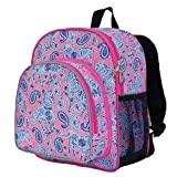Wildkin Watercolor Ponies Pink Pack n Snack Backpack